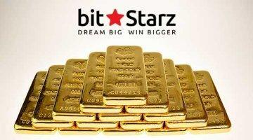 Один килограмм золота от Битстарз
